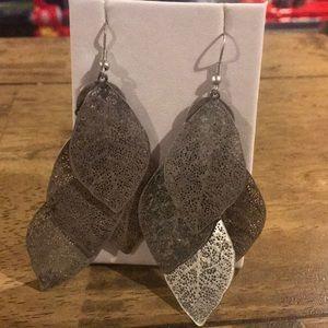 Long Leaf Earrings